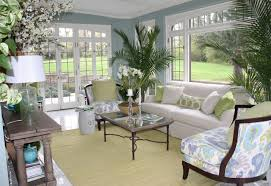 Ideas For Decorating A Sunroom Design Colors For Sunrooms Soft Blue Sunroom S Wall Paint Colors With
