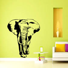 Wall Murals Amazon by Wall Decals Indian Elephant Tribal Ganesh Bedroom Vinyl Sticker