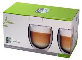 bicchieri termici rondo bicchieri termici a doppia parete per t礙 caff礙 2 x 400 ml