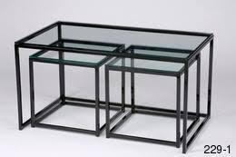 glass nesting coffee tables 10 the best glass cube coffee tables