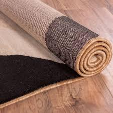 Cream Area Rugs Modern Soft Tone And Tone Contemporary Area Rug Beige Cream Black