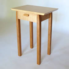 side table small thin side table hardwood 10 inch chairside end