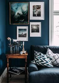 Schlafzimmer Blau Schwarz Kika In I Vår Nya Bloggare Krickelins Fantastiska Hem Dunkle