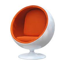 eero aarnio ball chair orange amazon in home u0026 kitchen
