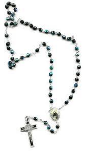free rosary free rome postcards st benedict borealis rosary