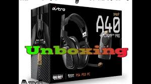 astro a40 black friday astro gaming a40 and mixamp pro use for ps4 or ps3 or pc unboxing