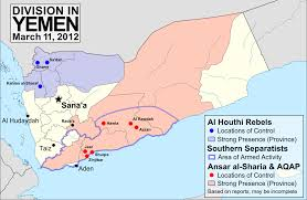 Arabian Peninsula Map Map Update Yemen Conflict Political Geography Now