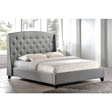 Tufted Platform Bed Upholstered Button Tufted Platform Bed 2017 Including King Picture