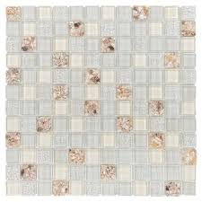 Floor And Decor Backsplash by Vera Glass Mosaic 1in X 1in 913102505 Floor And Decor