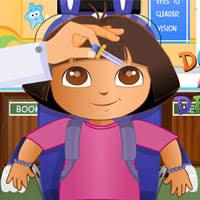 dora diego eye clinic free game kids