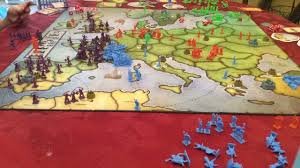 Europe Map Games by Risk Europe Time Lapse 170106 Youtube