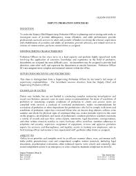 bunch ideas of probation officer cover letter sample guamreview in