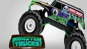 grave digger monster truck merchandise grave digger looks to crush paramount animation s monster trucks