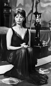italian domme in hair curlers if you haven t cried your eyes can t be beautiful sophia loren