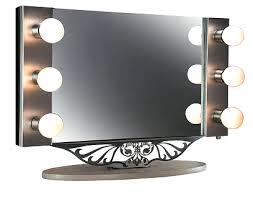 Tabletop Vanity Mirrors With Lights Vanities Beautyops Vanity Hollywood Starlet Lighted
