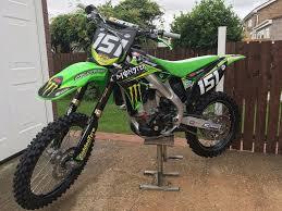 kawasaki kxf 250 kx250f offroad bike moto not 150 350 450 crf yzf