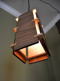 Wooden Pendant Lights Square Wooden Pendant Light Id Lights