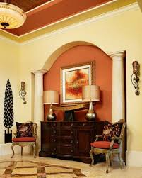 ceiling and wall color combination crown molding decorating