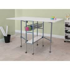 studio designs sew ready hobby and craft sewing machine table with