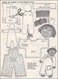 felt golliwog pattern sam golliwog golly doll pattern felt craft sewing dolls