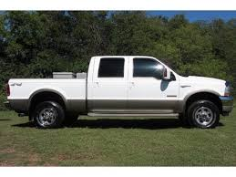 ford f250 2004 sold 2004 ford f 250 crew cab king ranch 4x4 6 0 diesel 6 0 ford