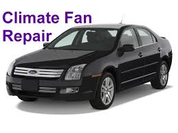 ford climate fan not working bad fan resistor auto repair