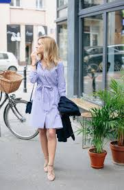 light blue and white striped maxi dress 25 simple ways to wear a shirt dress ideas just the design