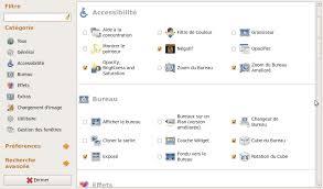 configuration bureau activer les effets 3d du bureau ubuntu logiciels libres