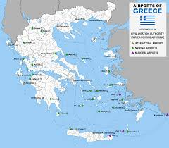 Map Of Athens Greece by List Of Airports In Greece Wikipedia