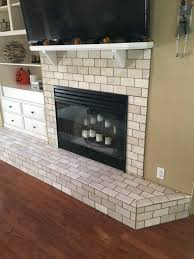 100 glass tile on fireplace keep warm this winter with