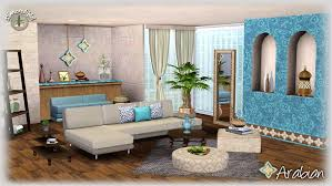 livingroom set my sims 3 arabian living room set by simcredible designs