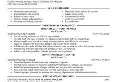 Example Of Cna Resume Peachy Ideas Home Health Care Resume 13 Unforgettable Nursing Aide