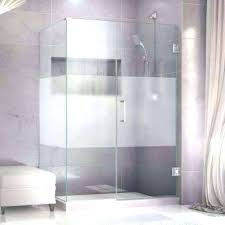 Half Shower Doors Doorless Screen Doors Shower Shower A Amazing Half Wall Shower