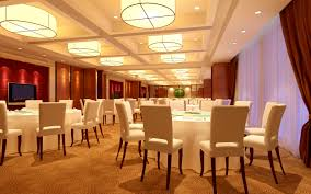 luxury restaurant with white furniture 3d model cgtrader