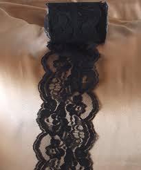 lace ribbon in bulk black chantilly lace