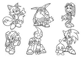 sonic characters coloring pages sonic the hedgehog never give up colouring page sonic the