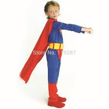 Toddler Superman Halloween Costume Aliexpress Buy 2017 Halloween Children Super Boys