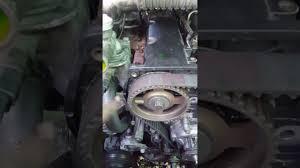 engine 2 9 timing mark hyundai terracan youtube