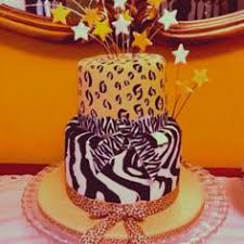 blue zebra and leopard print cake baby shower cakes pinterest