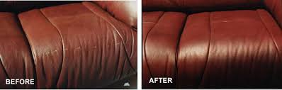 Leather Sofa Color Restoration by Professional Leather Care Repair U0026 Restoration Service