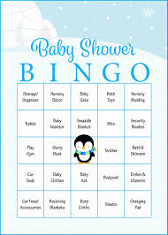 winter baby bingo cards printable download prefilled baby