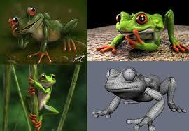 frog design and 3d by fernandofaria on deviantart
