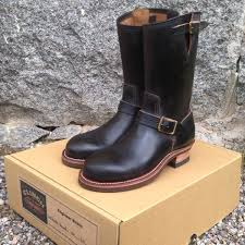 budget motorcycle boots clinch engineer boots brass tokyo hand made craftsmanship