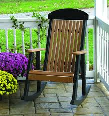 Luxcraft Poly Octagon Picnic Table Swingsets Luxcraft Poly by Luxcraft Porch Rocker Amish Yard