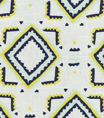 nate berkus home decor print fabric linea paramount caspian home