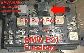 bmw e21 fuel pump relay u2013 320i 320 6 323i bavarian autosport blog