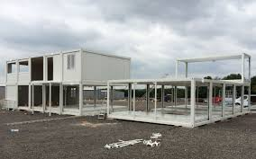bauhu prefabricated folding flat pack container cabin