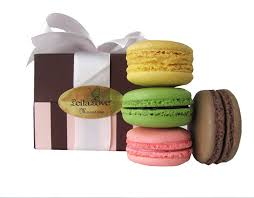 amazon com leilalove macarons 4 macarons the top 4 flavors
