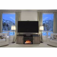 electric fireplace tv stand 70 u2033 entertainment center wood heater