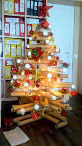 think outside the box with unusual christmas tree designs do it